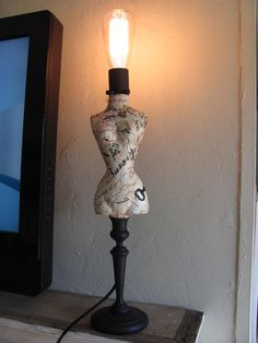 Mannequin Lamp are you inspiredthese mannequin lamps? mannequinmadness