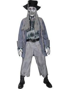 Fancy Dress - Men's Pirate Zombie Costume
