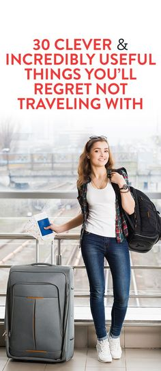 30 Clever and Incredibly Useful Things You'll Regret Not Traveling With