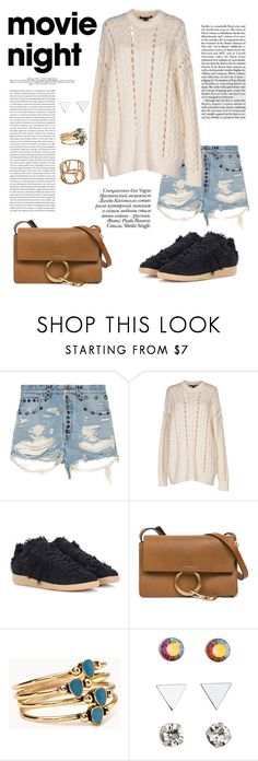 """Movie Night"" by windrasiregar on Polyvore featuring Gucci, Alexander Wang, Paolo, Maison Margiela, Chloé, Forever 21, H&M and Zara Taylor"