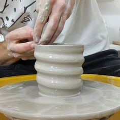5 Tips and Tricks to Improve Your Pottery Skills – Voyage Afield Throwing Clay, Wheel Throwing, Pottery Throwing, Pottery Lessons, Pottery Classes, Ceramic Techniques, Pottery Techniques, Ceramic Pottery, Ceramic Art