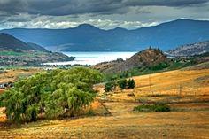 Okanagan Lake  BC Canada Vernon Bc, Waterfront Property, British Columbia, Beautiful Homes, Ranch, Golf Courses, Tourism, Canada, Vacation