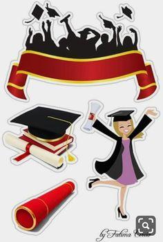 Tzvetelina Vutova-Ilarionova's media content and analytics Graduation Images, Graduation Theme, Graduation Cards, Baby Shower Clipart, Project Life Scrapbook, Birthday Clipart, Birthday Frames, Paper Cake, Planner Stickers