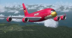 Angry Birds Airlines - I have to ask: Would the blue plane split into 3 pods that land in different neighboring cities??
