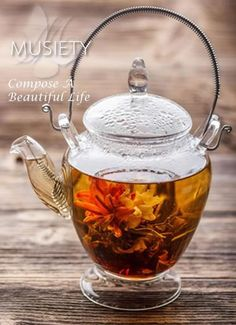 Compose a healthy, lovely tea time with the MUSIETY Life Notes tea guide.