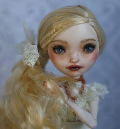 Ever After High Apple White Repaint Custom Ooak Doll Monster High | eBay