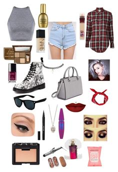 """#80"" by b3ttyw3ldon on Polyvore featuring Yves Saint Laurent, Dr. Martens, MICHAEL Michael Kors, Retrò, Boohoo, Alexander McQueen, Wet Seal, Anastasia Beverly Hills, Stila and LORAC"