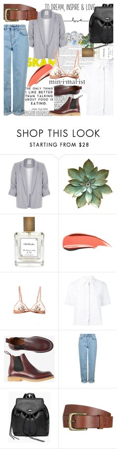 """""""Second Noora look from S K A M"""" by enjoyrosa ❤ liked on Polyvore featuring River Island, The Perfumer's Story by Azzi, Miahatami, Topshop, Rebecca Minkoff and Will Leather Goods"""