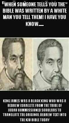 The real King James They rewrote history period. We sin against GOD and our Lord and Savior. Black History Facts, Black History Month, Tribe Of Judah, Black Pride, African American History, World History, Black People, In This World, Just In Case