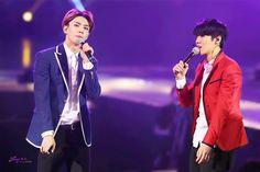 140920 EXO The Lost Planet in Beijing Day 1 - Sehun & Luhan #HunHan ♥