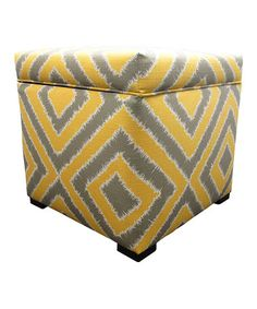 Take a look at this Dijon Nouvea Tami Storage Ottoman by S.O.L.E. on #zulily today!