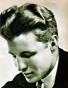 A young Ozzie Nelson (of Ozzie and Harriet)