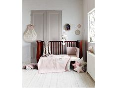 Millie & Boris - Girls Small Knitted Blanket - 70 x - Millie & Boris Unisex - Mamas & Papas Mamas And Papas, Little Girl Rooms, Knitted Blankets, Future Baby, Home Projects, Grey And White, Cribs, Kids Room, Toddler Bed
