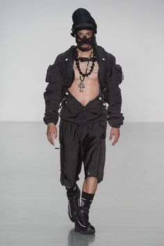 LOOK | 2016 SS LONDON MEN'S COLLECTION | NASIR MAZHAR | COLLECTION | WWD JAPAN.COM