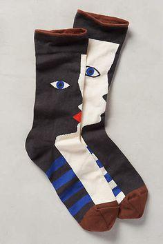 Anthropologie Favorites:: Really Cute Hosiery My Socks, Cool Socks, Tartan Plaid Scarf, Black Socks, Ankle Strap Heels, Sock Shoes, New Shoes, Hosiery, Anthropologie