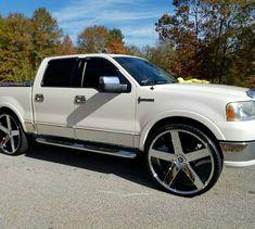 Dropped Trucks, Lowered Trucks, Suv Trucks, Ford Pickup Trucks, Lifted Trucks, Cool Trucks, Ford F150 Crew Cab, Ford F150 Custom, Lincoln Mark Lt
