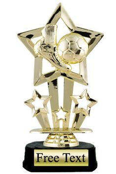 Shooting Star Soccer Trophy   | K2 Trophies and Awards