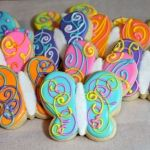 Spring Butterfly Cookies