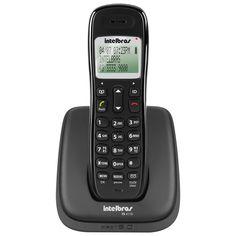 Telefone sem Fio Intelbras TS 4110 com identificação de chamadas - Preto - Telefones sem fio no Pontofrio.com