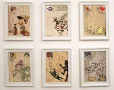 Disney Nursery wall art - 6 Art Prints