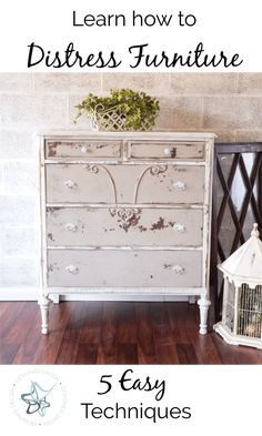 Learn how to distress furniture like a pro with 5 easy techniques is part of Easy Distressed furniture - Learn how to distress furniture like a pro with 5 easy techniques Learn great tips and advice for each of the 5 techniques by DeDe Baileu Painted Baby Furniture, Baby Furniture Sets, Furniture Direct, Distressed Furniture, Sofa Furniture, Cheap Furniture, Discount Furniture, Furniture Projects, Online Furniture