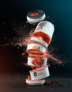 Mike Campau: Digital Artist - Combining Photography and CGI - baì Ads Creative, Creative Advertising, Advertising Design, Creative Design, Product Advertising, Food Graphic Design, Food Poster Design, Crea Design, Ad Design