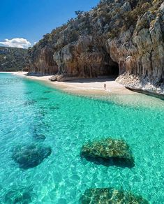 Have you ever visited this beautiful place in Sardinia?   Source - Beautiful Italy on Fb  #Travel #Beach #Italy #Sardinia