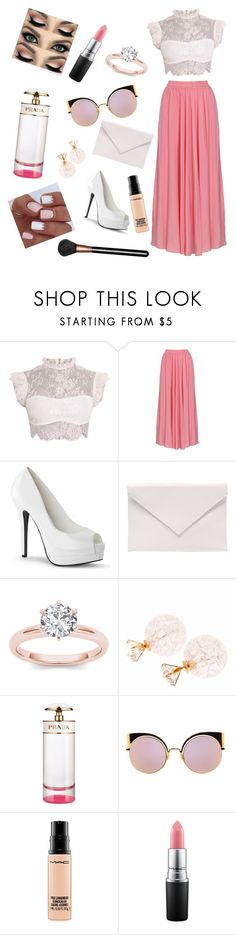 """""""KIDS CHOICE AWARDS 2017😛"""" by fragolinapiu ❤ liked on Polyvore featuring Verali, Prada, Fendi and MAC Cosmetics"""