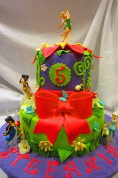 Default - tinkerbell cake