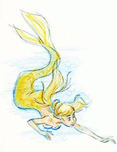 The Little Mermaid(1989) concept art