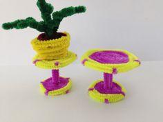 Pipe Cleaner Table, DIY tutorial #26, kids crafts