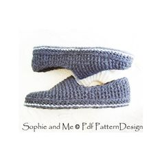 Ravelry: Plain Basic SC-Slippers pattern by Sophie and Me-Ingunn Santini Crochet Sole, Crochet Patron, Knitted Slippers, Step By Step Instructions, Adidas Sneakers, Pane, Ravelry, Pattern, Shopping