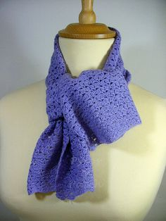 Lace scarf  Sciarpa merletto di PyrosePatch su Etsy