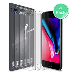 LK Pack] Screen Protector for iPhone 7 Plus / 8 Plus, [Tempered Glass] with Lifetime Replacement Warranty Amazon Tribe, Iphone Deals, Cell Phone Screen Protector, Iphone Hacks, Screen Guard, Discount Deals, Glass Protector, Gold Box, Shopping Deals