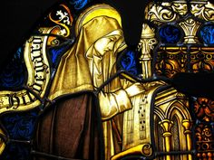 """Hildegard von Bingen: """"We cannot live in a world that is interpreted for us by others. An interpreted world is not a hope. Part of the terror is to take back our own listening. To use our own voice. To see our own light."""""""