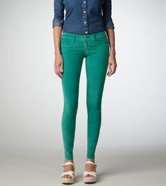 Corduroy Jegging, green
