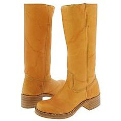 Frye Boots--I a pair similar and wore the crap outta them. Now their back and i need a pair. Loved them!