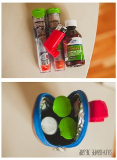 Insulated baby bottle holder for epi-pen.good for warm weather