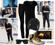 """""""Justin Biber BOYFRIEND♥"""" by paodrew-swag ❤ liked on Polyvore"""