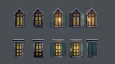 Window Variants , Tobias Koepp on ArtStation at https://www.artstation.com/artwork/PEXmo