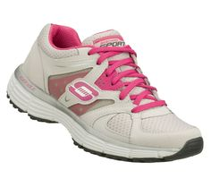 020a8c650dd94 Skechers Womens Athletic Shoes agility light gray pink lace up size 10 NEW  36.99 http: