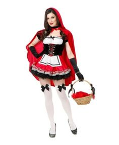 Little Red Riding Hood Costume Adult Sexy Halloween Fancy Dress Adult Costumes, Costumes For Women, Cosplay Costumes, Halloween Costumes, Buy Costumes, Halloween Party, Women Halloween, Funny Halloween, Girl Costumes