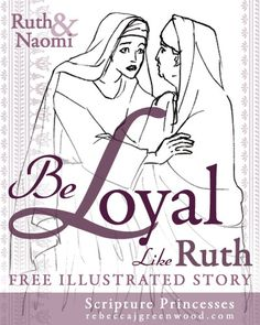 Ruth and naomi coloring pages google search sunday - Pagine da colorare ruth e naomi ...