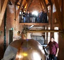 Fermenting. The Black Sheep Brewery in Masham, #Yorkshire