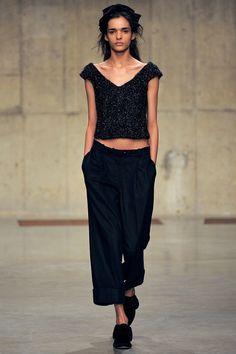 London Fashion Week Fall 2013 Simone Rocha