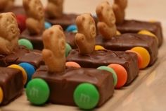 Milky Way Racing Cars. Something to make for the kids birthday parties