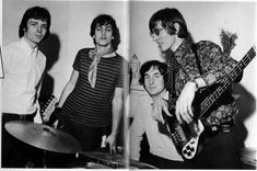 1967 Jan 20th, Mike Leonard's Flat rehearsal - by Irene Winsby
