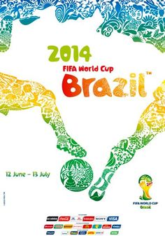 2014 World Cup Poster, Brazil