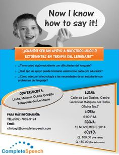 #CompleteSpeechGT te invita a nuestro evento en la Antigua Guatemala!