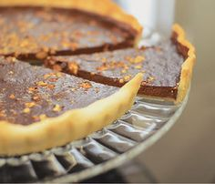 Two Chocolats and Almonds Pie - Video Recipe